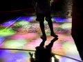 Leg Silhouette On Church Tumb ...