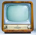 Legacy Soviet Television Set Royalty Free Stock Photo