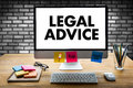 LEGAL ADVICE (Legal Advice Compliance Consulation Expertise Help Royalty Free Stock Photo
