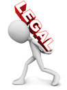 Legal burden Royalty Free Stock Photo