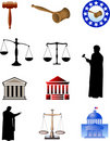 Legal Symbols Stock Image