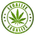 Legalize stamp Royalty Free Stock Photo