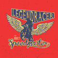 Legend Motorcycles Vintage Racers T-Shirt Design
