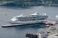 Legend of the seas alesund cruise ship royal caribbean international moored in port Stock Photography