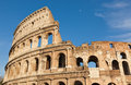 The legendary ancient colosseo or colosseum roma italy Stock Photos