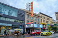 Legendary apollo theater new york city ny usa – september at west th street in harlem is a music hall and a Royalty Free Stock Photo