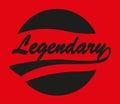 Legendary Caligraphy Design