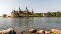 The legendary castle in Kalmar, Sweden Royalty Free Stock Photo