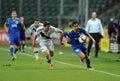 Legia warsaw fk kukesi europa league qualifications poland august nd round poland armenia o p bartosz bereszynski felipe Royalty Free Stock Photography