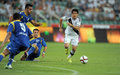 Legia warsaw fk kukesi europa league qualifications poland august nd round poland armenia o p guilherme Stock Photos