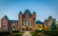 Legislative Assembly of Ontario situated in Queens Park - Toronto, Ontario, Canada Royalty Free Stock Photo