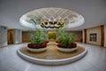 Legislative rotunda of Raleigh Royalty Free Stock Photo
