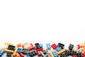 Lego colorful background Stock Images