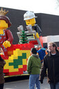 Lego Float - Santa Claus Parade Toronto 2010 Royalty Free Stock Photos