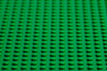 Lego green baseplate Royalty Free Stock Photography
