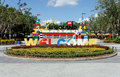 Legoland florida winter haven usa – october the main entrance to located in winter haven is a Royalty Free Stock Images