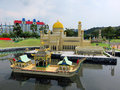 Legoland theme park Royalty Free Stock Photo