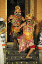 Legong and barong dance Royalty Free Stock Photos