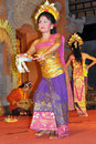 Legong dancer bali Stock Image