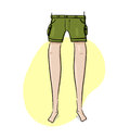 Legs Illustration Stock Photo