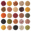 Legume collection Stock Photo