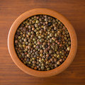 Legume roveja seeds is an old and traditional italian Royalty Free Stock Photos