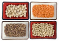 Legumes  mix Royalty Free Stock Photo