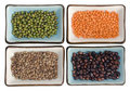 Legumes potpourri Stock Photography