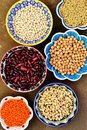 Legumes variety of different tipe Royalty Free Stock Photos