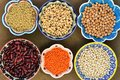 Legumes variety of different tipe Royalty Free Stock Images