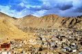 Leh city(city of gompas) Royalty Free Stock Image