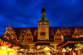 Leipzig christmas market Royalty Free Stock Photography