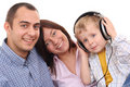 Leisure activity - family Stock Image