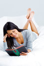 Leisure book woman Royalty Free Stock Photo