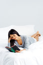Leisure book woman Royalty Free Stock Images