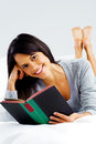 Leisure book woman Stock Photography