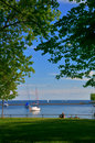 A leisure day at waterfront Royalty Free Stock Photo