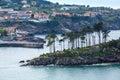 Lekeitio town coastline, Biscay, Spain. Royalty Free Stock Photo