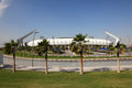 Lekhwiya sports stadium in doha abdullah bin khalifa qatar Stock Photography