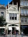 Lello bookshop porto famous livraria in portugal Royalty Free Stock Photos