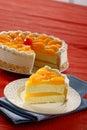 Limón queso pastel