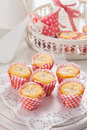 Lemon cupcakes Royalty Free Stock Photo