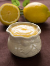 Lemon curd Stock Photos
