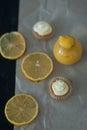 Lemon curd Royalty Free Stock Photo