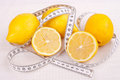 Lemon diet Royalty Free Stock Photos