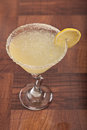 Lemon drop martini Royalty Free Stock Image