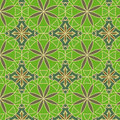 Lemon Green Vector Seamless Pattern Stock Photos