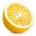 Lemon half Royalty Free Stock Photo
