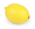 Lemon isolated on white background a Stock Photography