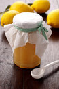 Lemon Jam Royalty Free Stock Photo